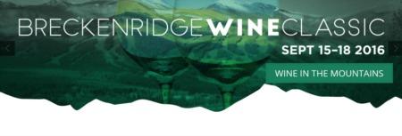 The Breckenridge Wine Classic Debut