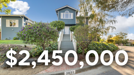 Touring this Charming $2.45M Home in Redwood City!