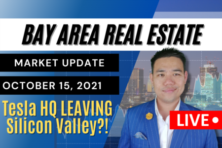 Tesla HQ leaving Silicon Valley?! | Bay Area Real Estate Market Update October 15, 2021