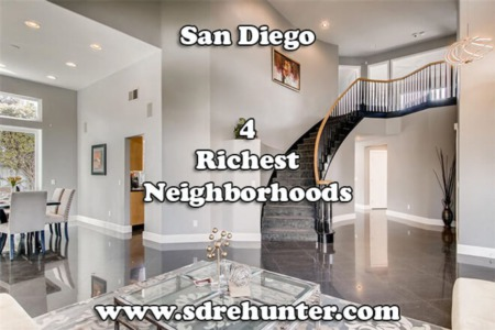 San Diego's 4 Richest (and Wealthiest) Neighborhoods in 2021