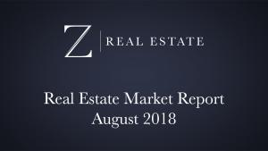August 2018 Las Cruces Market Report