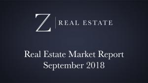 September 2018 Las Cruces Market Report