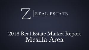 Mesilla Area | 2018 Area Market Report
