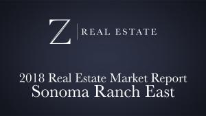 Sonoma Ranch East   2018 Area Market Report