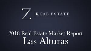 Las Alturas   2018 Area Market Report