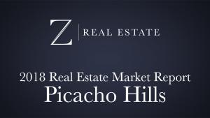Picacho Hills   2018 Area Market Report