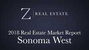 Sonoma West   2018 Area Market Report