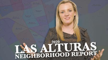 2020 Las Alturas Neighborhood Report