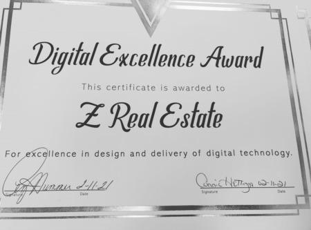BHGRE - Steinborn & Associates Digital Excellence Award