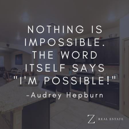 Las Cruces Real Estate | Wednesday Wisdom - Audrey Hepburn