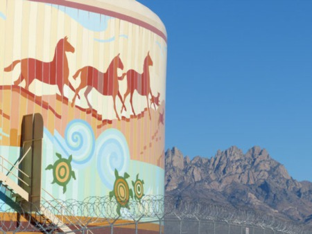 Las Cruces Real Estate | Throwback Thursday - Water Tanks