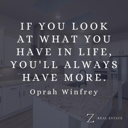 Las Cruces Real Estate | Wednesday Wisdom - Oprah Winfrey