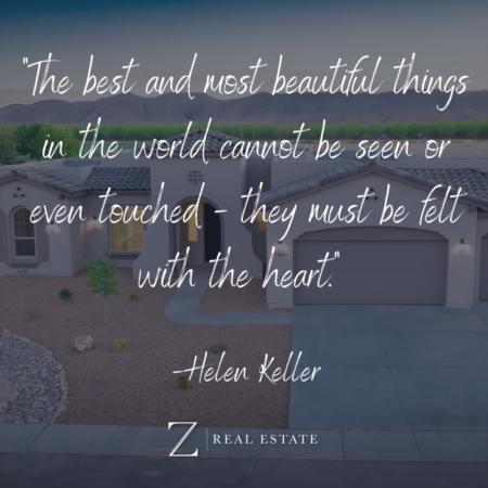 Las Cruces Real Estate | Wednesday Wisdom - Helen Keller