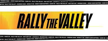 Rally The Valley Phoenix Suns