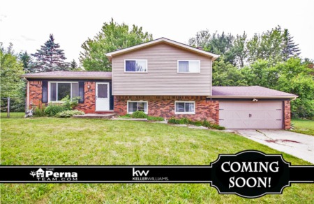 Home For Sale in Northfield, White Lake Twp Under $300K! - COMING SOON