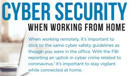 Cyber Safety Tips for Working From Home