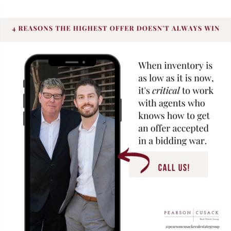 Will the highest offer always win? Spoiler alert – nope!