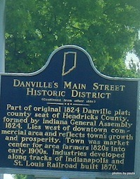 Danville Indiana Historic Homes