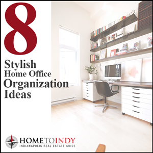 8 Stylish home office organization ideas from Pinterest