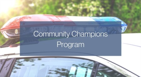 What is the Community Champions Program?