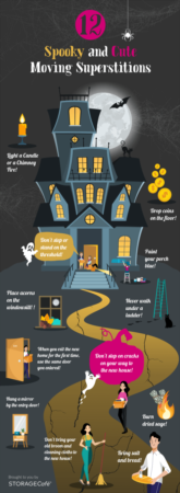 Moving to a new home? Check out the spookiest superstitions related to moving and the truth behind them!