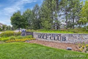 Highlands Ranch Golf Club Luxury Home for sale