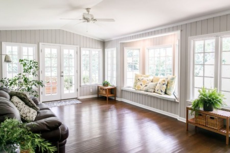 How To Keep Your Sunroom Warm in the Colder Seasons