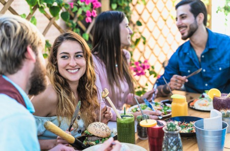 Get a Bite to Eat with Friends at Lemon Leaf