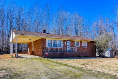 New Listing! Wonderful Brick Ranch in Roxboro!