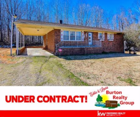 Under Contract in Roxboro! 122 Henderson Road, Roxboro, NC 27573