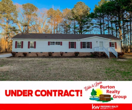 Under Contract! 203 Fox Pond Road, Henderson, NC 27537