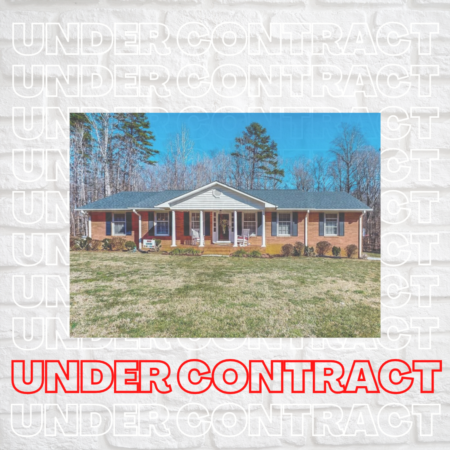 Under Contract in Hurdle Mills! 667 Guess Road