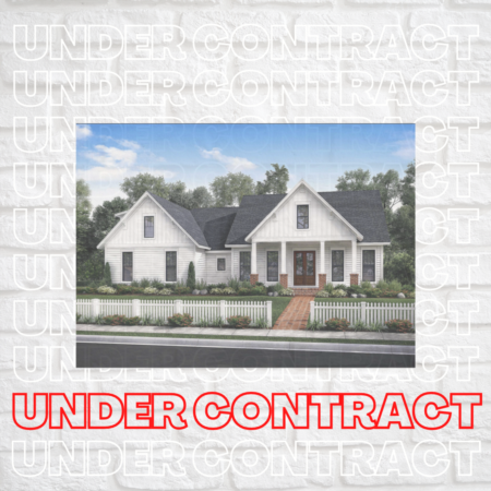 Gorgeous New Construction Home Under Contract in Timberlake!