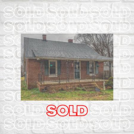 Sold in Roxboro, NC! 127 Lankford Street!