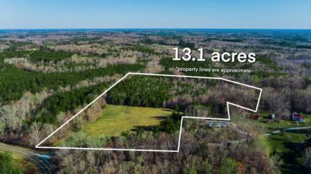 Land For Sale! 13 Acres Martin Hills Lane, Roxboro!
