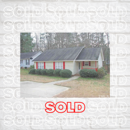 Sold! Adorable home in Sanford, NC!
