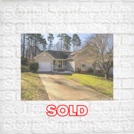 Sold! Awesome Home in Graham, NC!