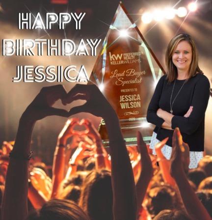Happy Birthday to Rockstar Agent Jessica Wilson