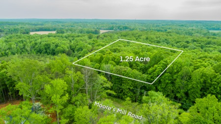 NEW Listing! 1.25 Acre Moore's Mill Road, Rougemont, NC 27572