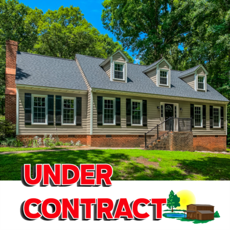 Under Contract! 4124 New Sharon Church Road