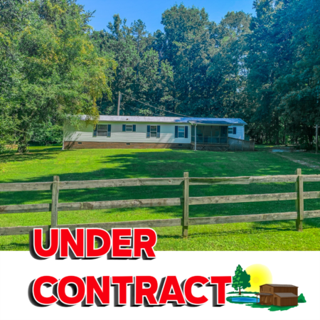 Under Contract! 890 Harris Mill Road