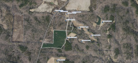 NEW Listing! Over 25 Acres For Sale in Leasburg, NC!