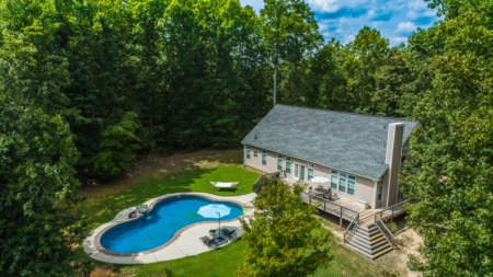 NEW Listing! HUGE House on 13 Acres with a POOL!