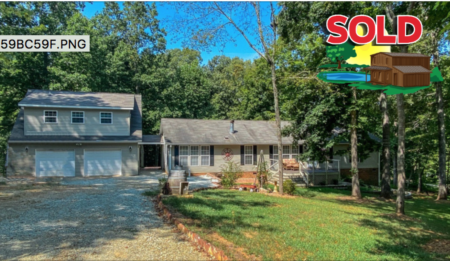 Sold! 286 Little Creek Road in Timberlake, NC!