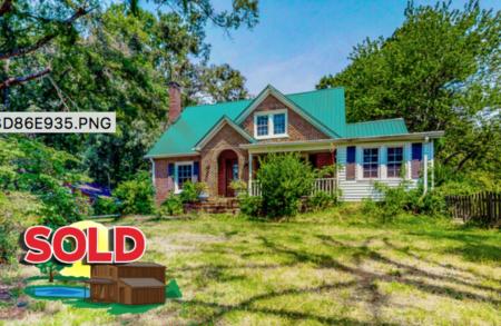 Sold! 2686 Leasburg Road in Roxboro, NC!