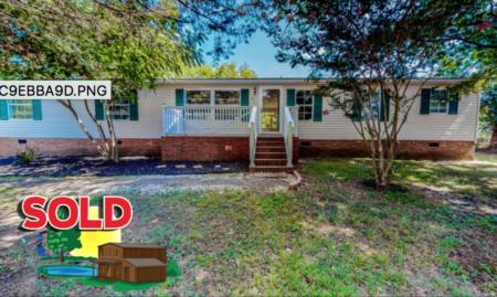 Sold! Home on Trescott Drive in Timberlake, NC!
