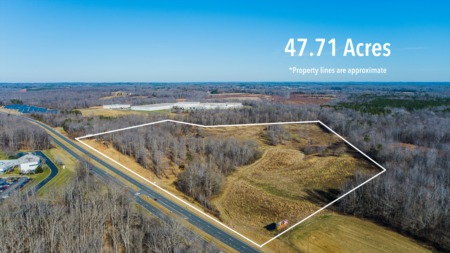 47 Acres For Sale on 501!
