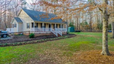New Listing in Timberlake, NC! Your own Private oasis on 3 Acres!