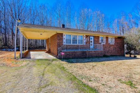 New Listing! Brick Ranch in Roxboro, NC for sale!