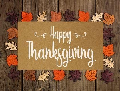 A Thanksgiving Message from The Gellman Team